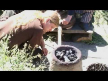 How to make iron in the old way