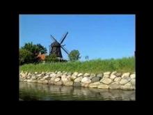 Vikingaskepp i Malmö kanal